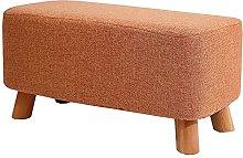 WHOJA Upholstered Footstool Ottoman Modern sofa