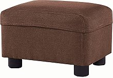 WHOJA Upholstered Footstool Ottoman