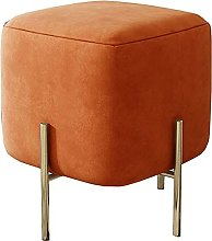 WHOJA Upholstered Footstool Ottoman Skin-friendly