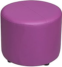 WHOJA Upholstered Footstool Ottoman Small bench