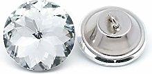 Wholesale 25PCS 25MM Bling Rhinestone Crystal