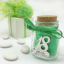 Wholesale and Saving 20 x Glass Candy Jars with