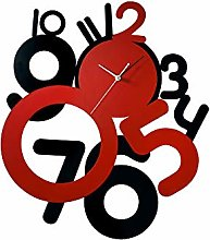 WI Infinity Funky Clock Black/Red IL70093
