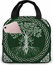 Wicca Life Magic Tree Yule Pagan Green Wiccan Year