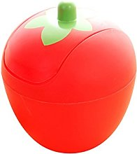 Wicemoon Strawberry Desktops Mini Trash Can with