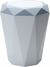 Wicemoon. Swing Cover Diamond Shape Trash Can