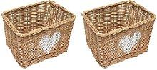Wicker Basket Brambly Cottage Colour: Oak