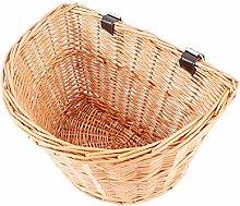 Wicker Bike Bicycle Front Basket Shopping