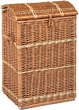 Wicker Laundry Basket Beachcrest Home