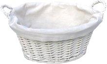 Wicker Laundry Basket Brambly Cottage Size: 19cm H
