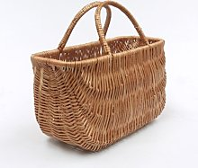 Wicker Shopping Basket/Two Handles