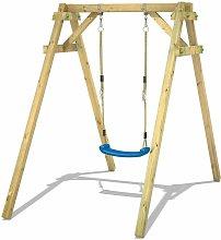 WICKEY Wooden swing set Smart One Children's