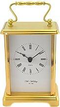 Widdop Brass Effect Carriage Clock