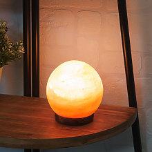 Widdop - Himalayan Rock Salt Sphere Lamp UK Plug  