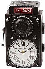 Widdop Hometime Mantel Clock Red Box Camera