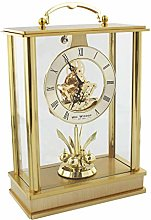 Widdop W2013 Gold Tone Skeleton Movement Pendulum