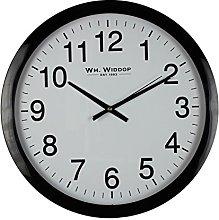 Widdop William Wall Clock - Black