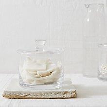 Wide Glass Storage Jar, Clear, One Size