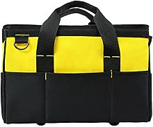 Wide Mouth Tool Bag,Large Capacity Tool Tote Bag