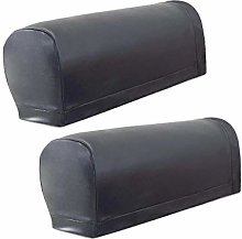 wide smile Sofa Armrest Covers PU Leather Armchair