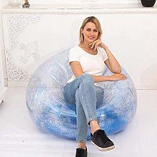 widely Inflatable Chair Air Lounger Lazy Chair