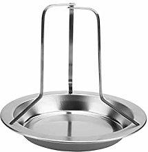 Wifehelper 1Pc Stainless Steel Upright Roast