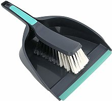 Wifehelper Mini Broom Dustpan, Desktop Computer