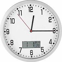 Wifehelper Multifunctional Modern Wall Clock with