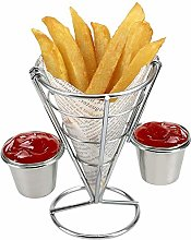 Wifehelper Plating French Fries Stand Buffet Cone