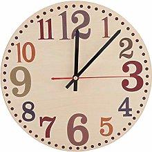 Wifehelper Vintage Style Wall Clock, Silent