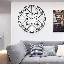 Wifehelper Wall Clock, 50cm Modern Stylish Silent