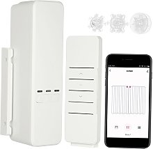 WiFi smart curtain controller, with remote
