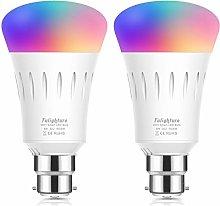 WiFi Smart LED Light Bulbs RGBW, Dimmable Colour
