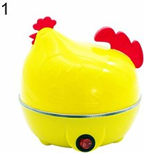wiFndTu Egg Steamer Boiler, Chicken Shape Electric