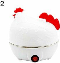 wiFndTu Egg Steamer Boiler, Chicken Shape Electric