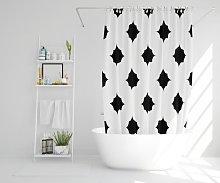 Wigan Polyester Shower Curtain Set Ebern Designs