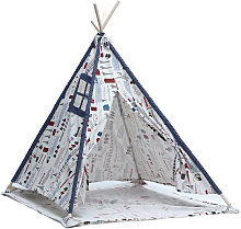 Wigwam Kids Cotton Canvas Teepee Tent