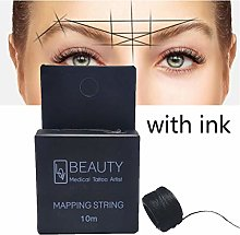 Wiivilik Pre-Inked Eyebrow Mapping String for