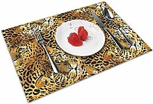 Wild Animal Leopard Insulation Heat Resistant