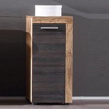 Wildon Bathroom Storage Cabinet In Walnut Touch