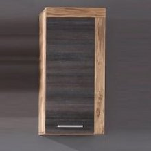 Wildon Storage Wall Cabinet In Walnut Touch Wood