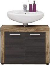 Wildon Wooden Vanity Cabinet In Walnut And Touch