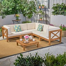 Wilfred 5 Seater Corner Sofa Set Sol 72 Outdoor