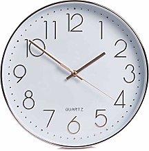 wilko Classic Copper Effect Wall Clock