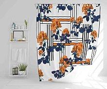 Wilksboro Polyester Shower Curtain Set Ebern