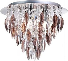 Willazzo 3 Light Flush Ceiling Fitting In Chrome