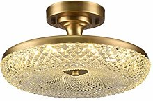 William 337 Aisle Ceiling Lamp, Glass Crystal