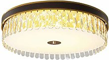 William 337 Crystal Ceiling lamp, Bedroom Round
