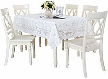 William 337 Embroidered Lace Tablecloth Openwork