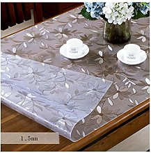 William 337 PVC Waterproof Transparent Tablecloth